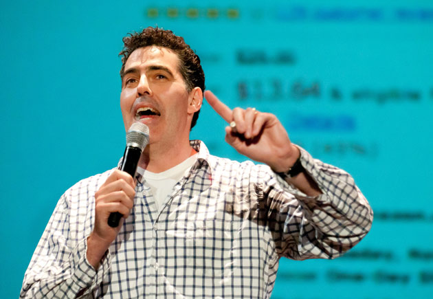 Funnyman and car guy Adam Carolla