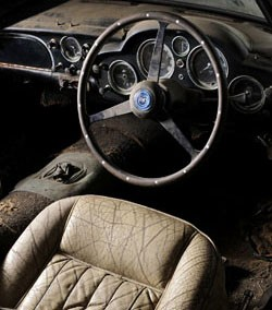 aston martin db4 convertible interior