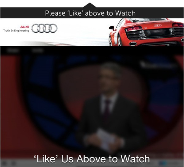 audi like us to watch facebook