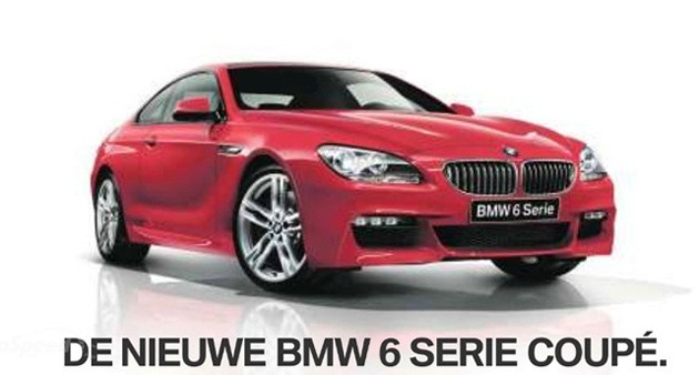 BMW 6 Series M Sport Package leak