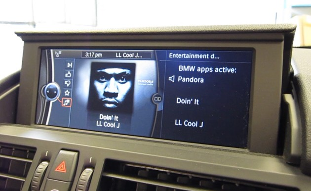 BMW ConnectedDrive with BMW Apps