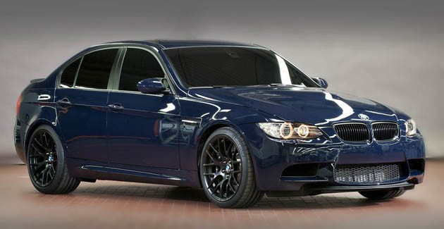 BMW M3 lightweight sedan