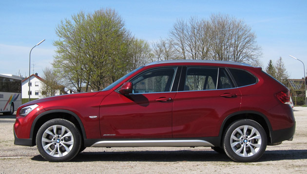 2011 BMW X1 sDrive28i profile
