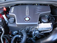 2011 BMW X1 sDrive28i engine