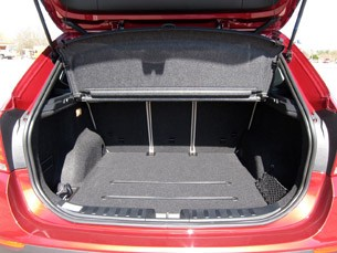 2011 BMW X1 sDrive28i rear cargo area