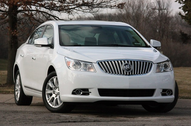 2012 Buick LaCrosse eAssist