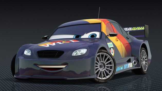 Max Schnell in Pixar's CARS 2