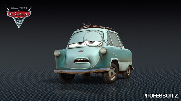 CARS 2: Professor Z