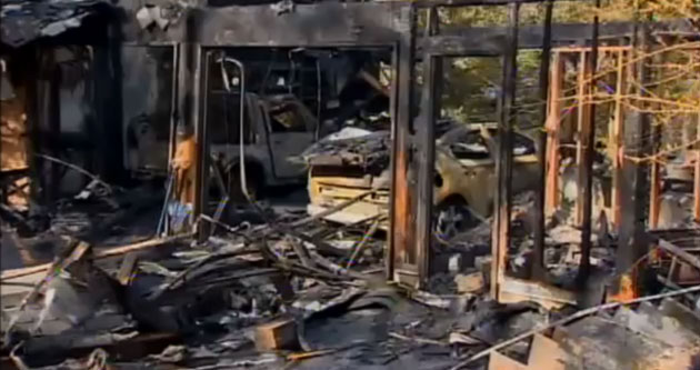 2011 Chevrolet Volt involved in Connecticut fire