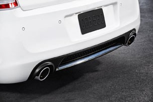 2012 Chrysler 300 SRT8 rear bumper