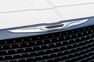 2012 Chrysler 300 SRT8 grille
