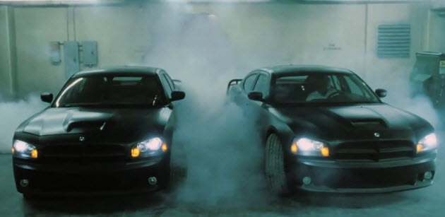 fast five dodge chargers