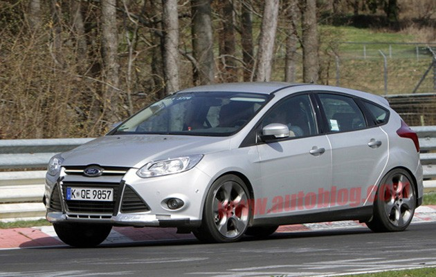 spy photos ford focus st