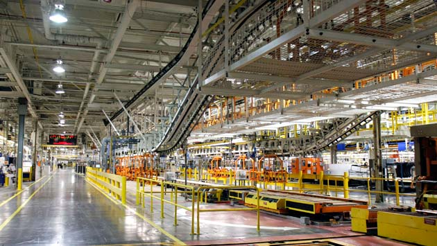 2011 Ford Focus production line