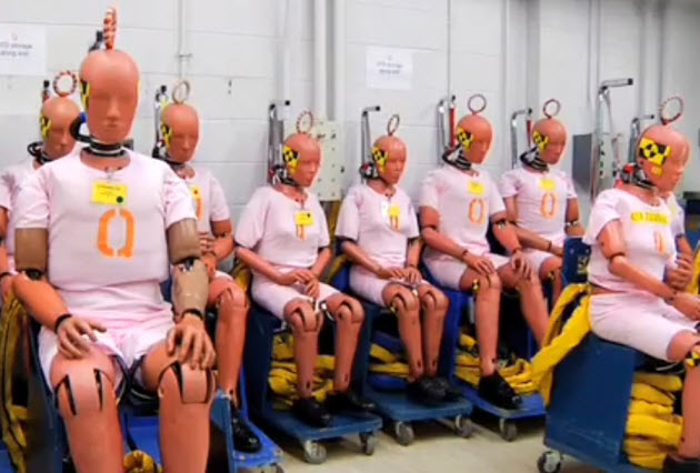 general motors crash test dummies