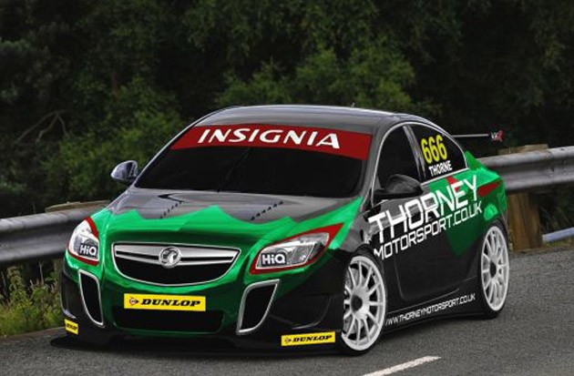 insignia btcc Vauxhall Insignia to go racing in British Touring Car Championship