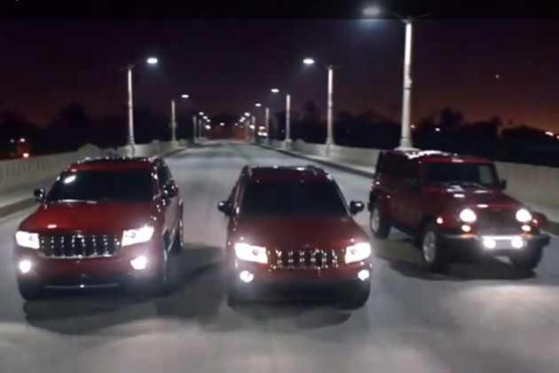 Jeep Compass Bloodlines ad