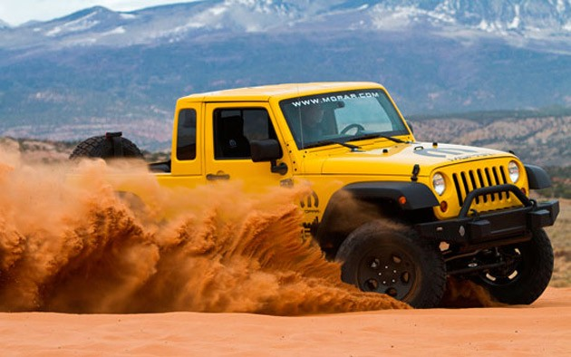 Jeep Wrangler JK-8 independence at Easter Jeep Safari