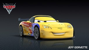 CARS 2: Jeff Gorvette