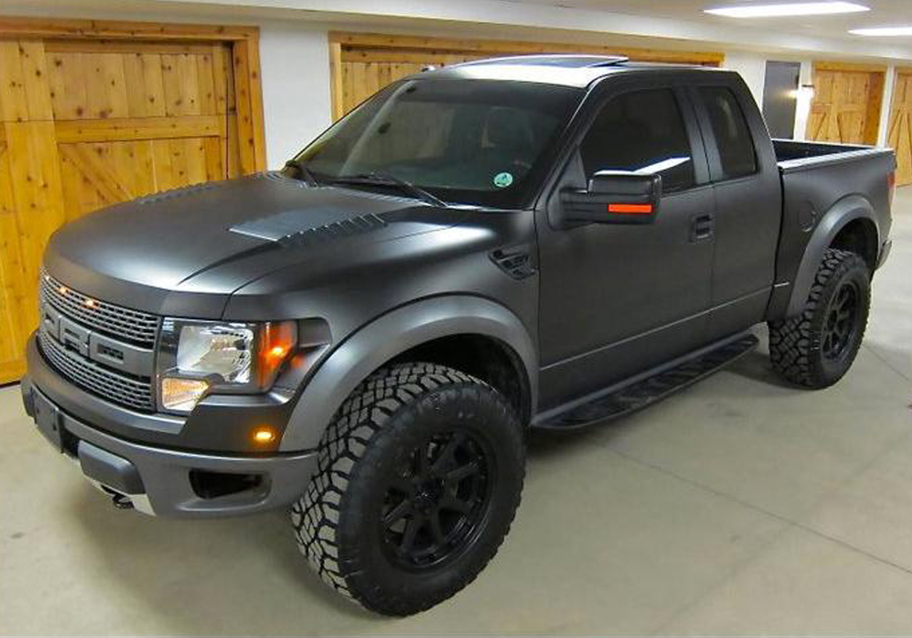 Ken Block S Murdered Out 2011 Ford Raptor Photo Gallery