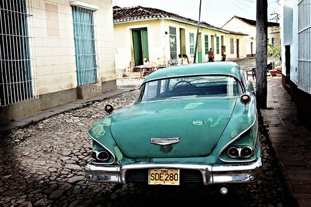 classic cuban car