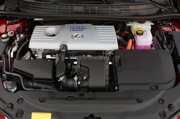 2011 Lexus CT 200h engine