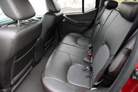 2011 Nissan Xterra Pro-4X rear seats