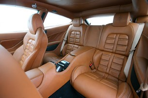 2012 Ferrari FF rear seats
