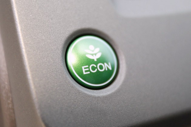 2012 Honda Civic ECON button