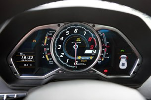 2012 Lamborghini Aventador LP700-4 gauges
