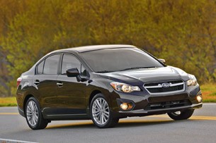 2012 Subaru Impreza front 3/4 view