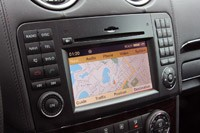 2011 Mercedes-Benz ML63 AMG navigation system