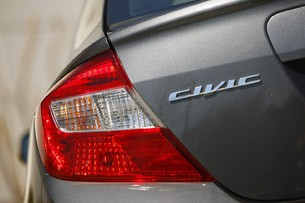 2012 Honda Civic taillight