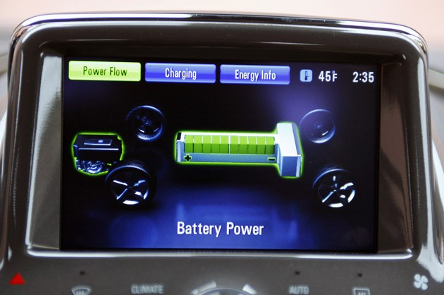 2011 Chevrolet Volt battery info