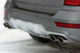 2011 Mercedes-Benz ML63 AMG rear bumper