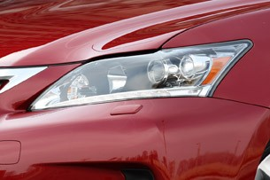 2011 Lexus CT 200h headlight