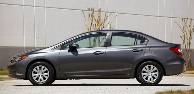 2012 Honda Civic Side View