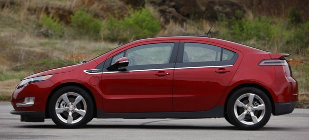 2011 Chevrolet Volt side view
