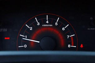 2012 Honda Civic Si tachometer