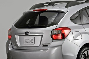 2012 Subaru Impreza rear detail