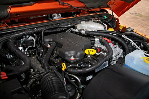 2011 Jeep Wrangler Unlimited 2.8 CRD engine