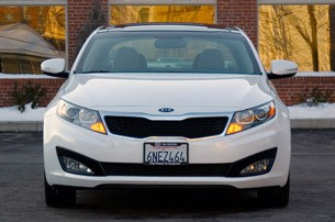 2011 Kia Optima EX front view