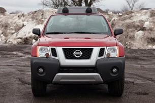 2011 Nissan Xterra Pro-4X front view