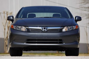 2012 Honda Civic front view