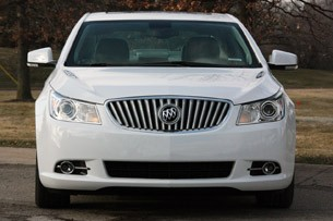 2012 Buick LaCrosse eAssist front view