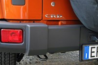 2011 Jeep Wrangler Unlimited 2.8 CRD rear bumper