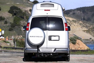 2011 Airstream Avenue rear view