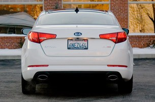 2011 Kia Optima EX rear view