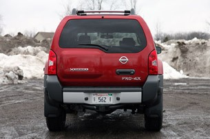 2011 Nissan Xterra Pro-4X rear view