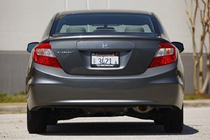 2012 Honda Civic rear view